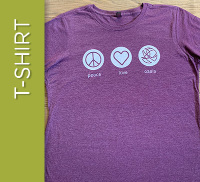 Peace Love OASIS T-Shirt - 2XL