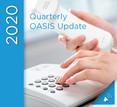OASIS Update Teleconference - July 22, 2020