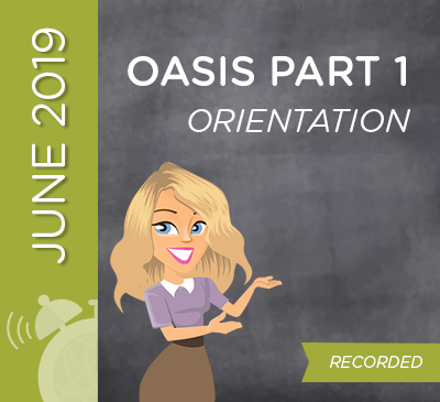 OASIS Orientation Part 1 - Overview | Conventions | Uses
