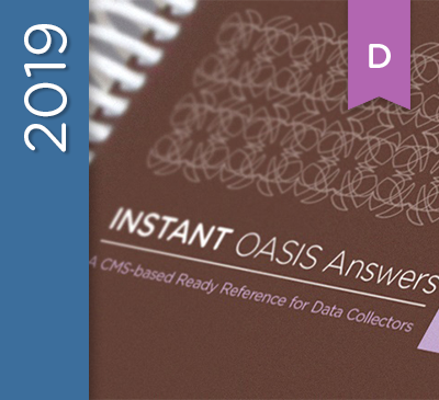 INSTANT OASIS Answers Guide D Edition - 2019 (Spiral)