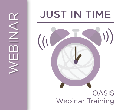 NEW OASIS Time Points Guidance for PDGM: Successfully Navigating the Transition and Beyond