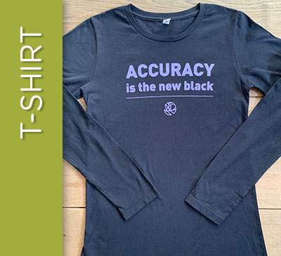 Accuracy is the New Black - Size M