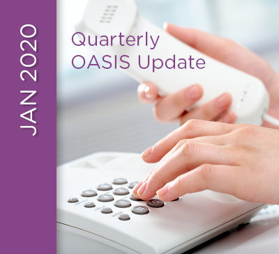 OASIS Update Teleconference - January 22, 2020