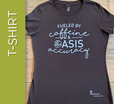 Fueled by Caffeine & OASIS Accuracy T-Shirt