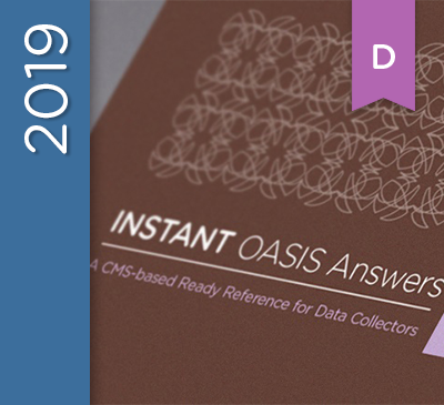 INSTANT OASIS Answers Guide D Edition - 2019 (Perfect-Bound)